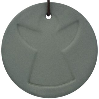 Ceramic Angel Disk Decoration