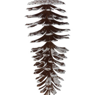 Large Glittered Pine Cones