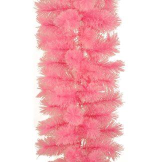 CASHMERE FIR GARLAND Pink 2.74M X 35 CM - 2.74m x 35cm