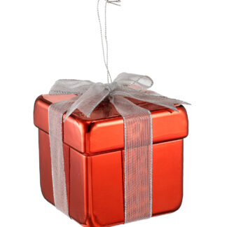 Metallic Gift Box Decoration