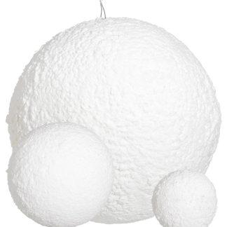 Snowball Textured White