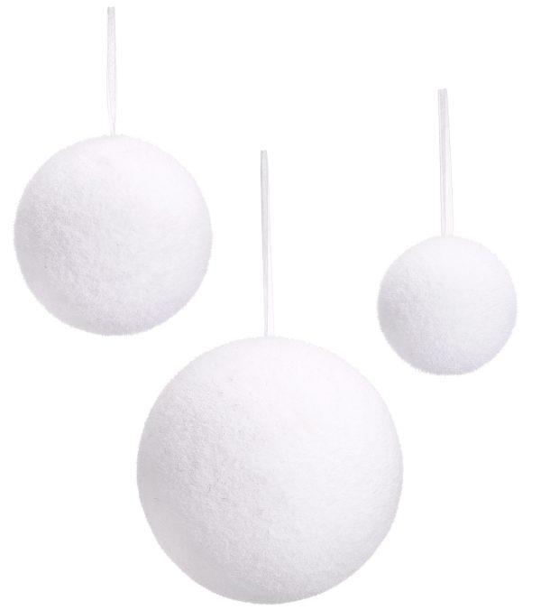 Snowballs - Flocked