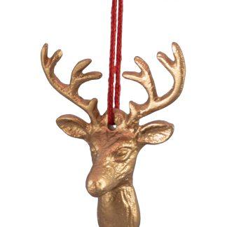 Metal Deer Head