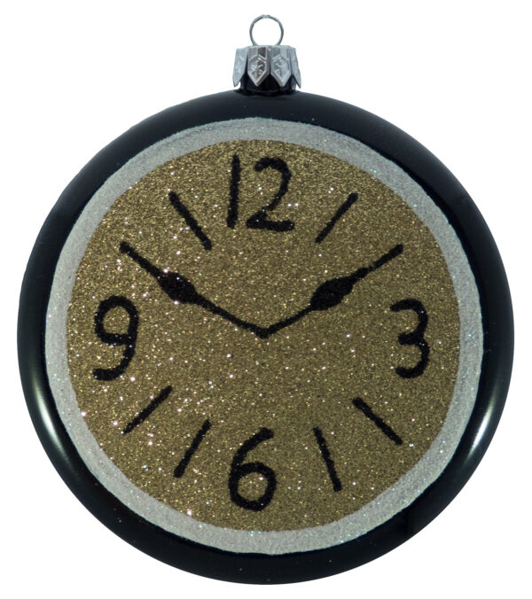 Glittered Clocks