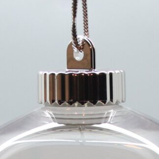 Clear Baubles - Shatterproof Glass Style