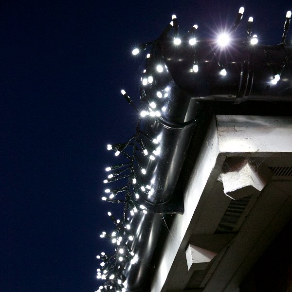 Ice White Cluster Lights