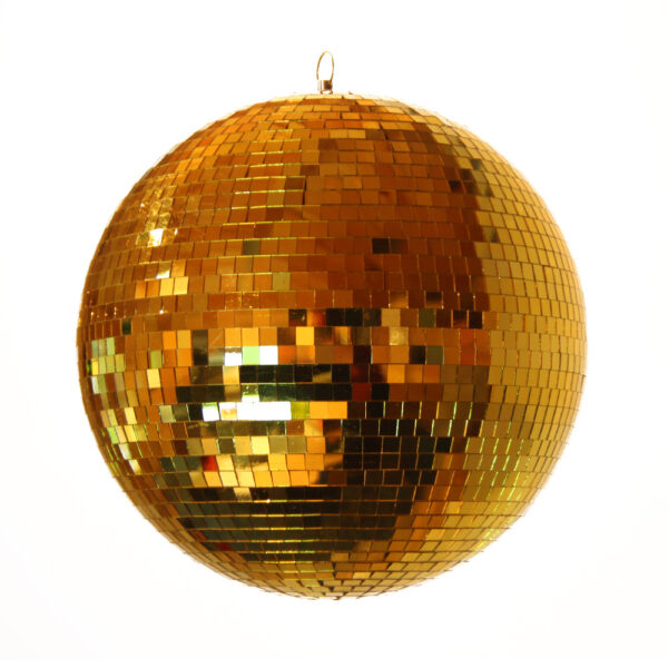 Gold Mirror Balls