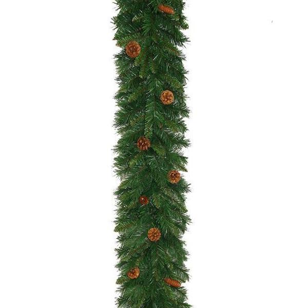 Pine Cone Christmas Garland
