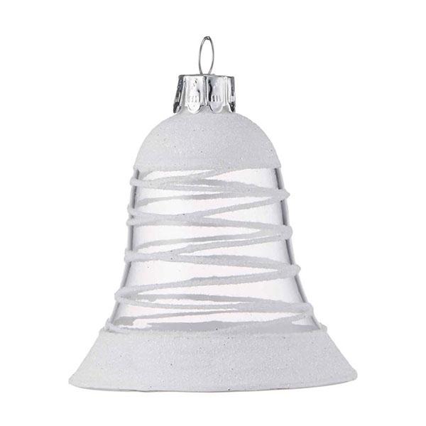 white swirl bell
