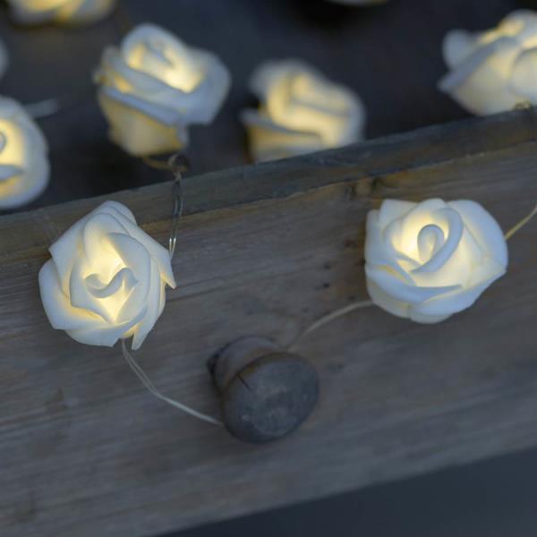small rose LED lights