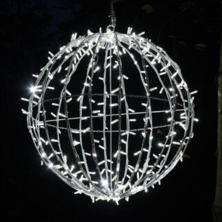 3D LED Illuminated Sphere- One Click Colour Switch