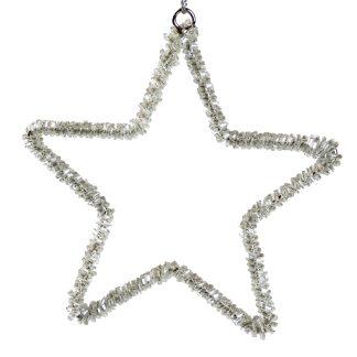 Beaded Stars 13cm