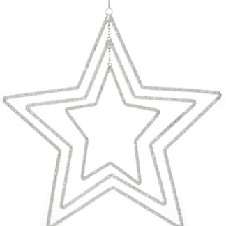 Beaded Star Mobile