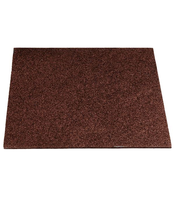 Glitter Panels Chocolate 30cm - 30cm Square - In a Pack of 6 - Brown