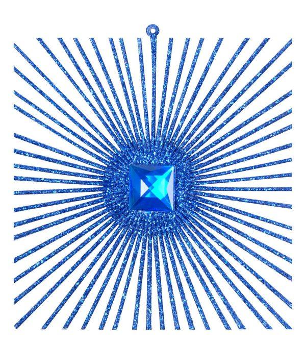 Radiating Glitter Square Large 20cm x 20cm
