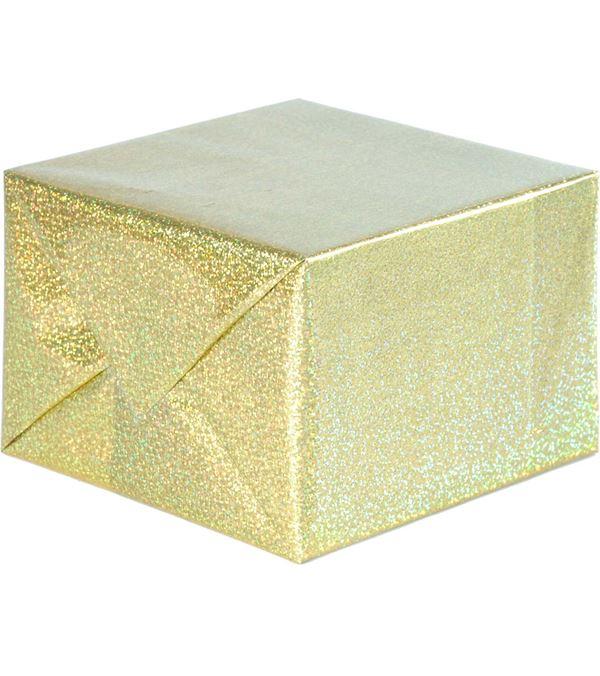 Foil Wrap Holographic Gold 1m x 10m - 1m x 10m - Gold
