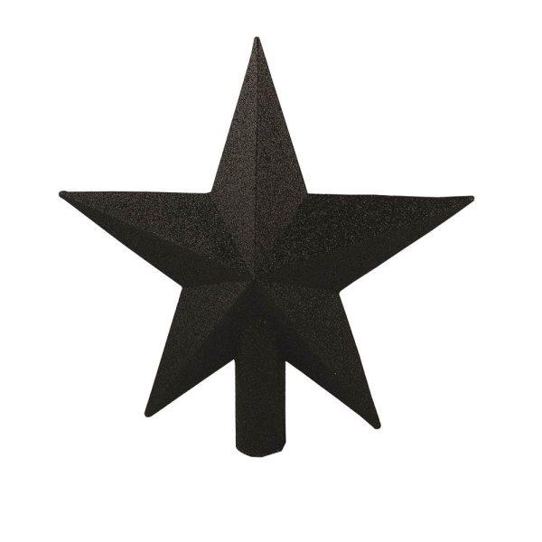 Glitter Panelled Star Tree Topper 200mm