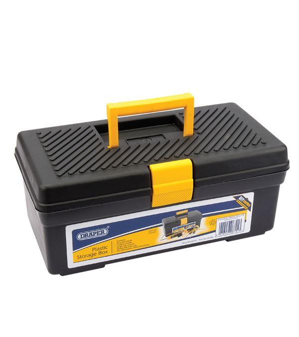 Tool Box - 47cm x 20cm X18cm - Black - Sold Individually