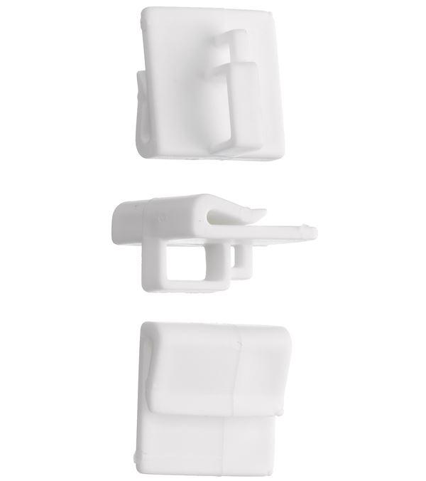 Ceiling Grid Hanger - 19mm x 18mm - Pack of 50 - White