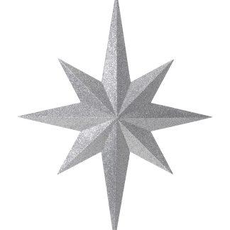 Eight Point Large Glitter Star