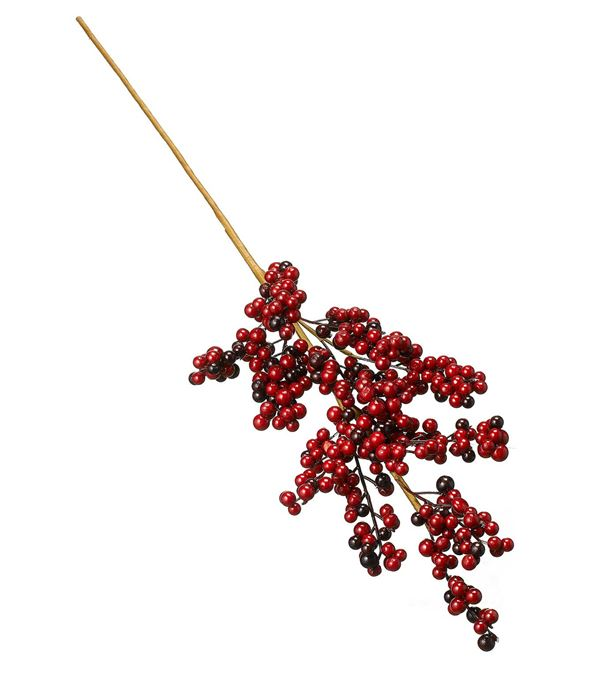 Berry Spray - 86cm Long - Red - Sold Individually