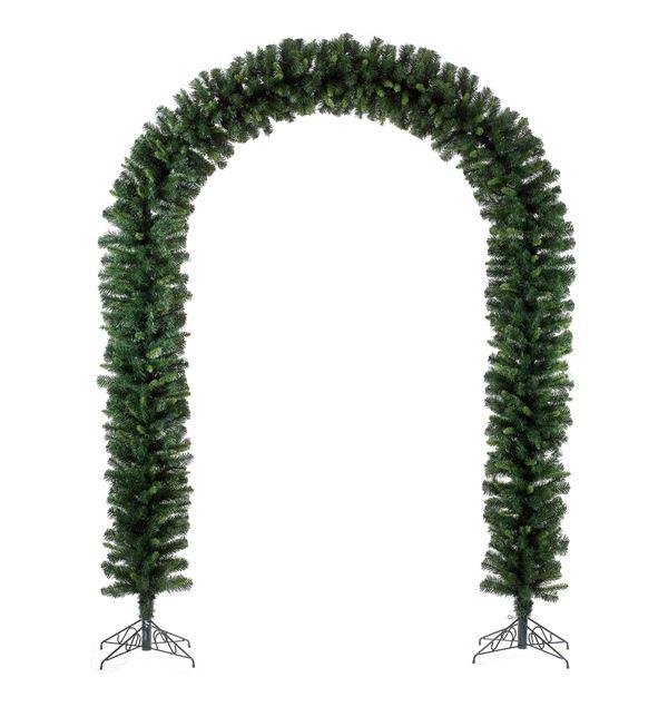 Fir Arch - Green - 228cm x 165cm