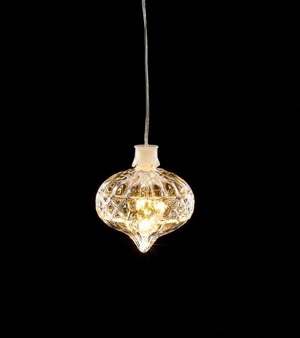 LED Crystal Light - Onion Shape