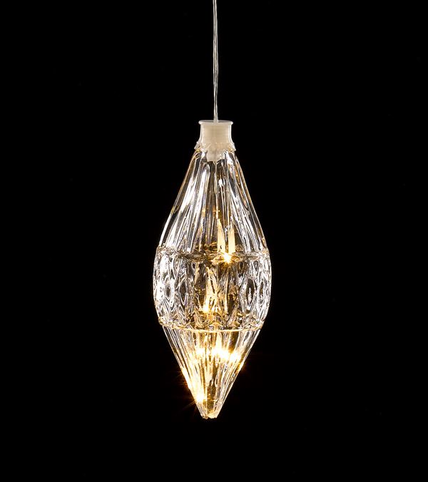 LED Crystal Light - Drop Shape