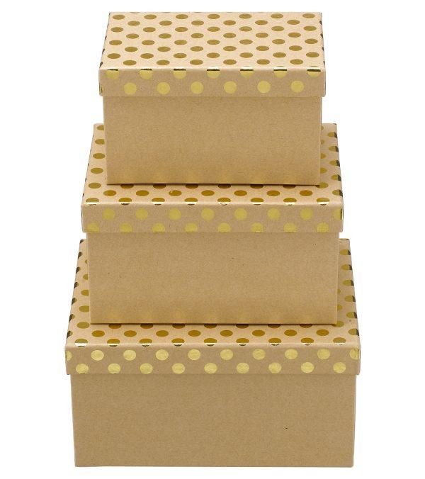 Rectangular Kraft Boxes