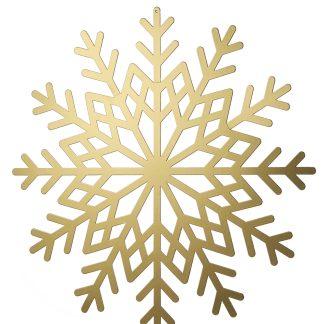 Metallic Card Snowflakes