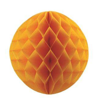 matt gold honeycomb ball
