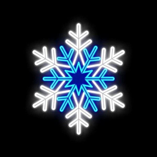 Outdoor Motif - Blue Star