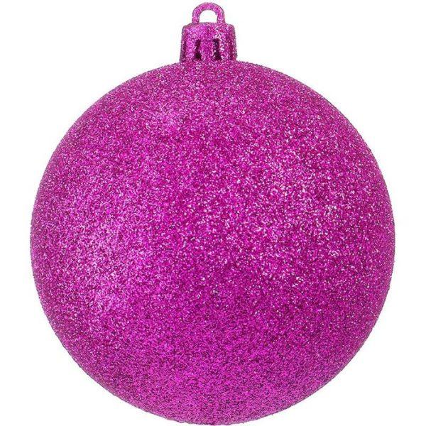 Classic Glitter Baubles