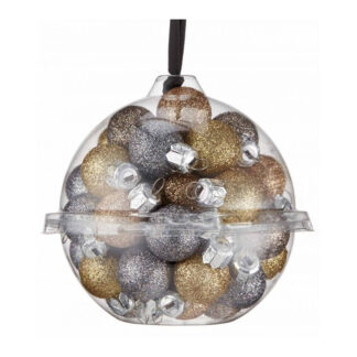 mixed pack of 20mm baubles