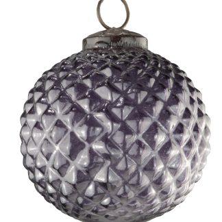 Glass Hobnail Baubles