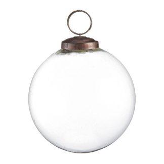 Transparent Glass Bauble