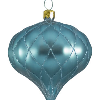 Quilted Onion Baubles