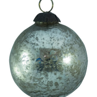 SPECKLED GLASS BAUBLE