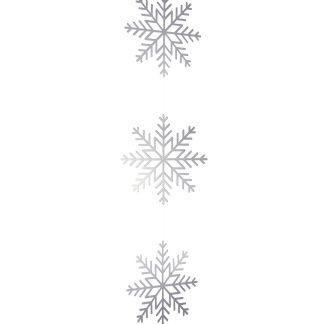 Metallic Card Snowflake Garlands
