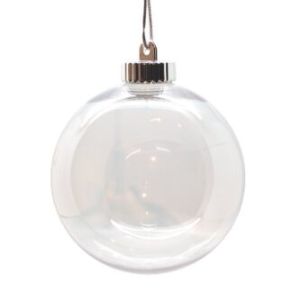 150mm clear bauble