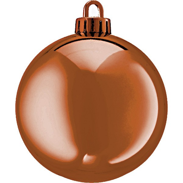 Large Shiny Baubles - 250mm
