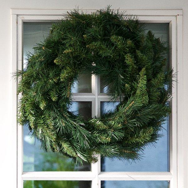 Plain Spruce Christmas Wreath