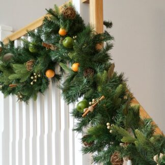 Luxury Rustic Christmas Garland