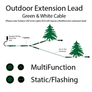 Outdoor Extension Leads- Pro Series Lights