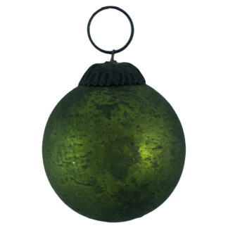 Distressed Glass Ombre Baubles