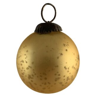 Distressed Glass Baubles