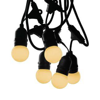 Drop Bulb Festoon Lights - Warm White
