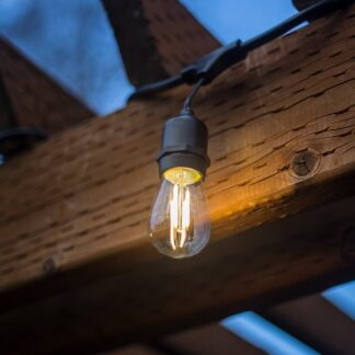 Festoon Lights with Drop to Filament Style Bulbs – Mains Voltage