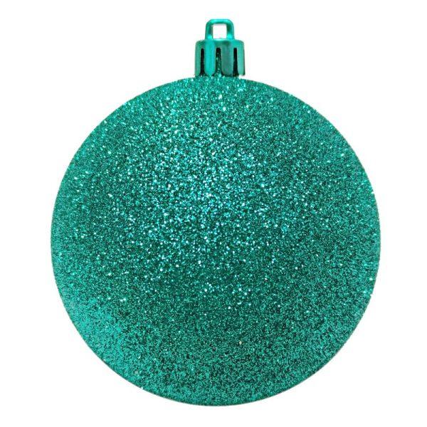 Sea Green Glitter Finish Bauble